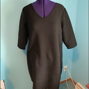 Junarose black with silver detail NWT Size 1x